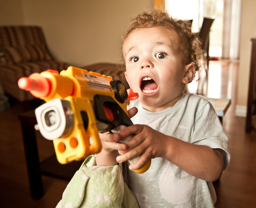 Nerf Gun Wars   by beckipeckham Nerf Gun Wars   by beckipeckham