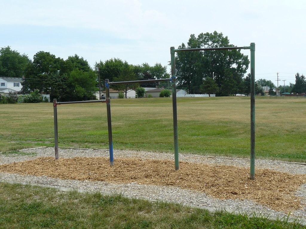 Descriptive writing school playground?