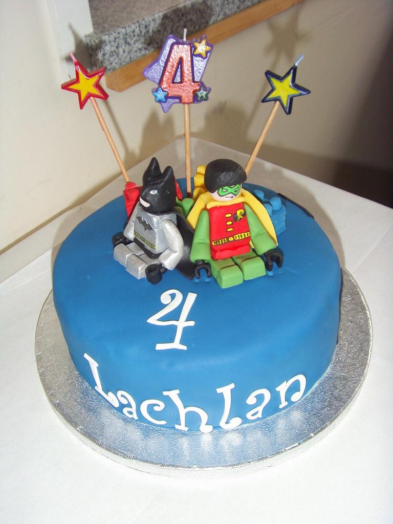 Lego Batman And Robin Cake For Lachlans 4th Birthday Flickr