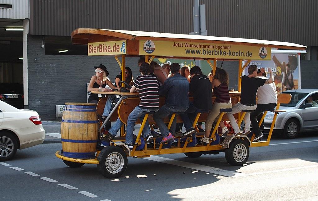 Beer bus, Cologne   Se...