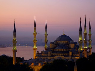 Blue mosque at dawn | by Frans.Sellies