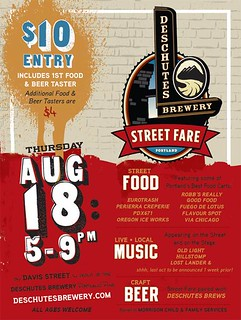 Deschutes Brewery 2nd Annual Street Fare | NW Portland, Beer, Music, Foodcarts | by PDX Pipeline