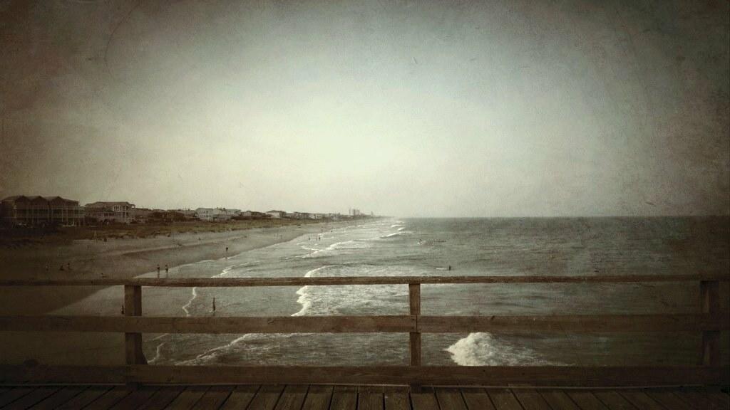 Kure beach nc from the fishing pier virginia ginny for Kure beach fishing report