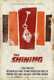 "Vintage Movie Poster:  ""The Shining"" 