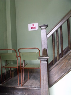 Black Country Living Museum - The Workers' Institute - stairs at the back - No Entry - sign | by ell brown
