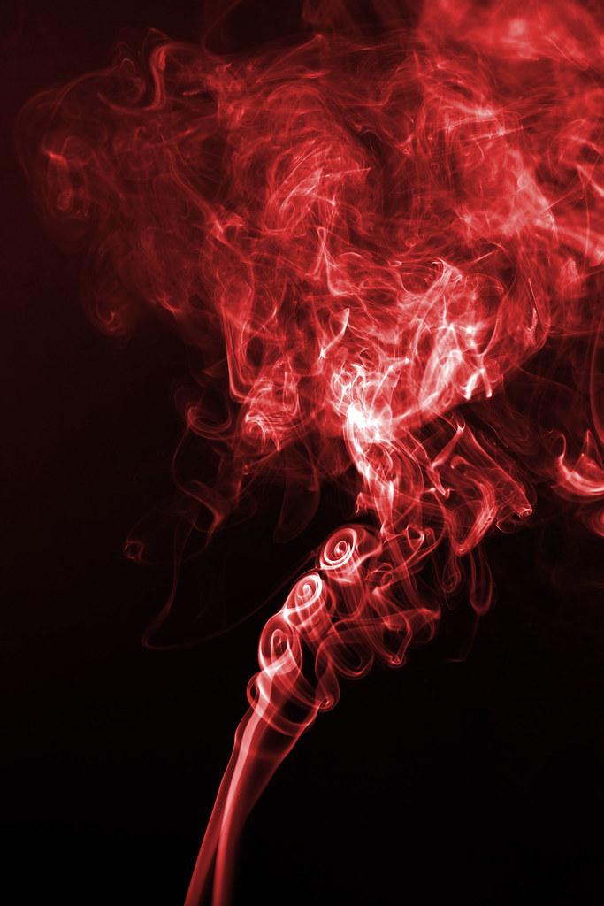 Red smoke tumblr