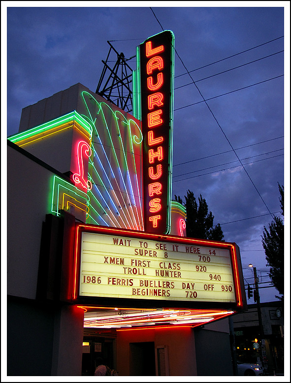 Laurelhurst Theater | By Vintage Roadside Laurelhurst Theater | By Vintage  Roadside