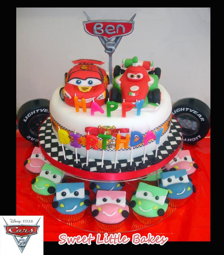 Disney Car Birthday Cake Singapore