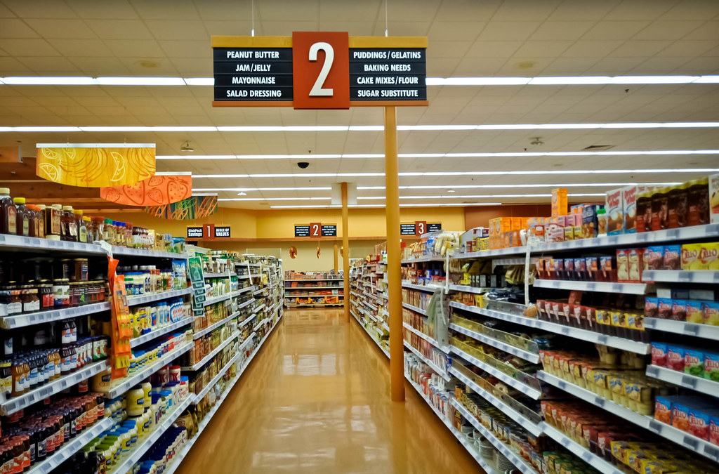 grocery store design interior decor design aisle signa flickr - Convenience Store Design Ideas