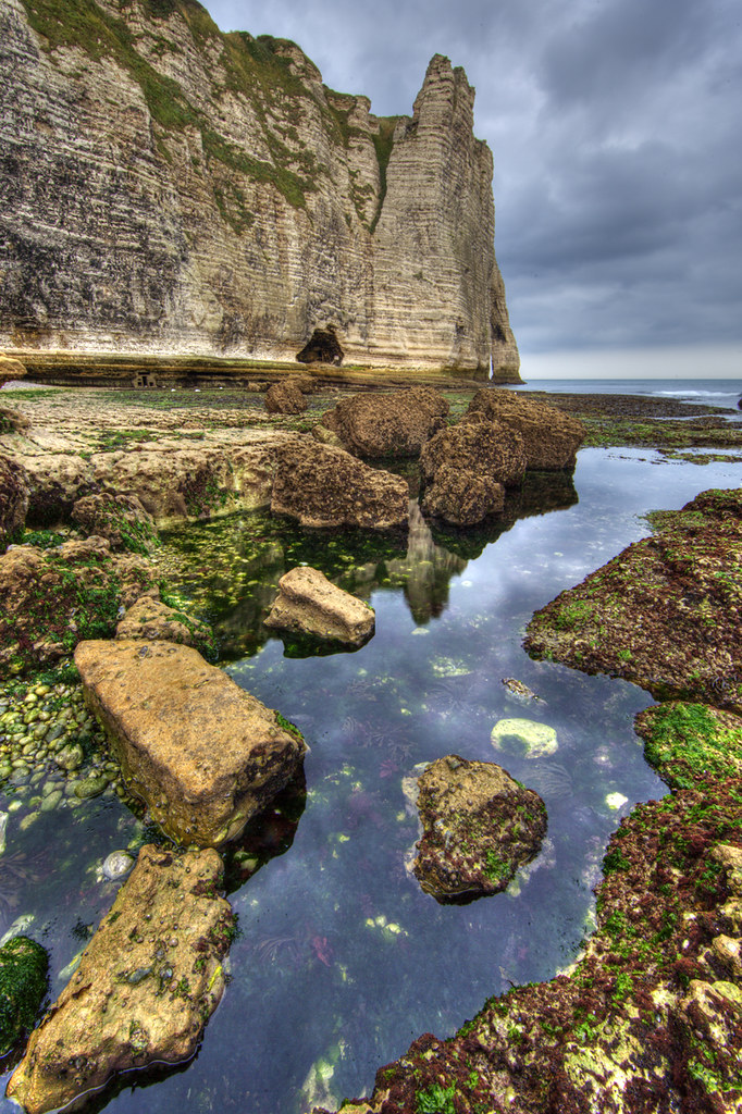 Etretat haute normandie la falaise d 39 aval l 39 arche et for 3 haute normandie