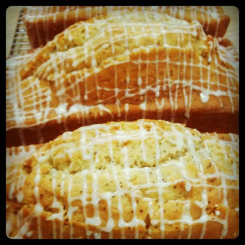 Kriss Kross will make you jump jump! Lemon poppyseed loaves, #glutenfree | by zestbakery
