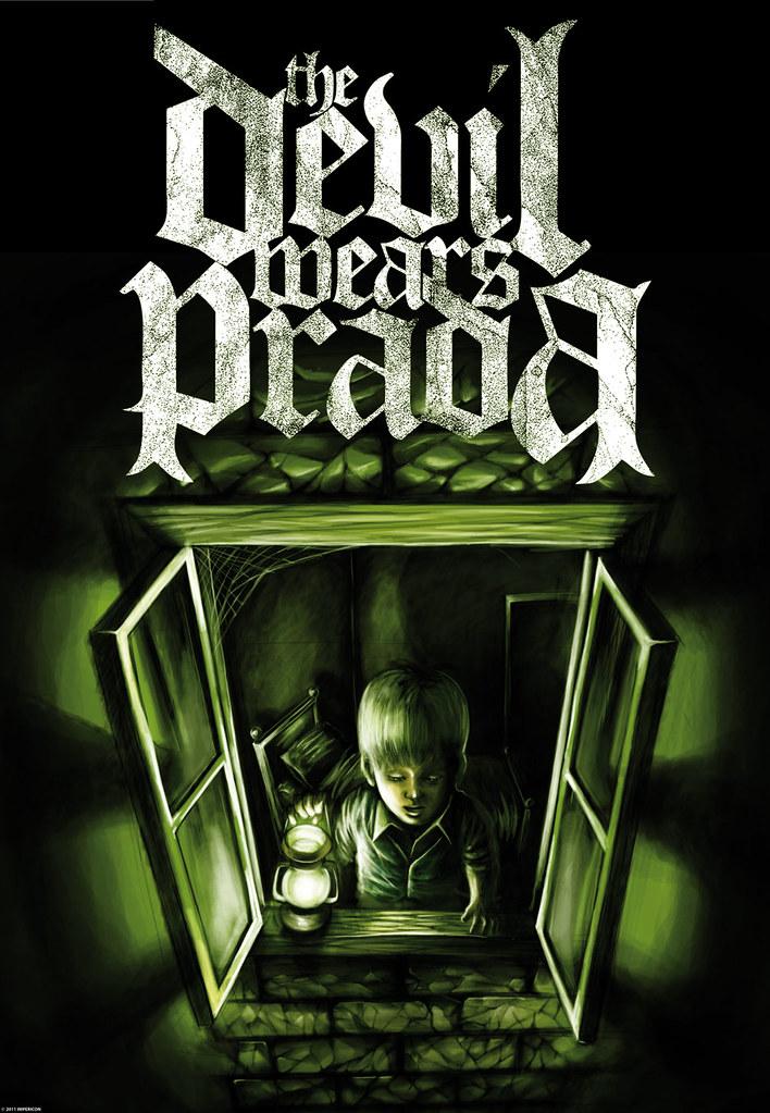 The Devil Wears Prada Zombie Ep Poster Pack Motive Flickr