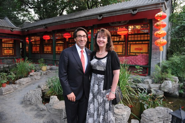 Jay Sekulow with his wife Pamela in Beijing