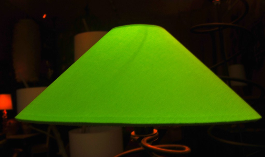 Green lamp shade green lamp shade marc falardeau flickr green lamp shade by marc falardeau mozeypictures Images