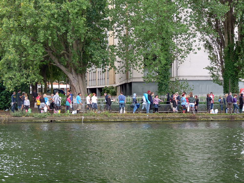Reading Festival  - queue for the boat (4) | by karenblakeman