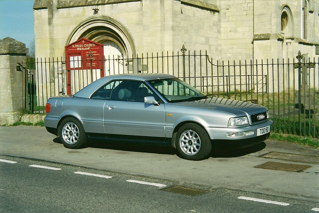 audi 80 cabriolet tdd 50 seen outside whiteshill church flickr. Black Bedroom Furniture Sets. Home Design Ideas