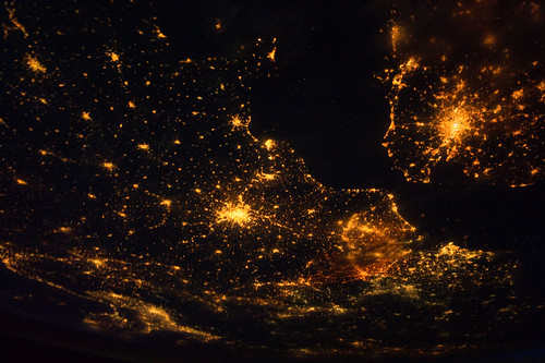 Europe at Night (NASA, International Space Station, 08/10/11) [Explored] | by NASA's Marshall Space Flight Center