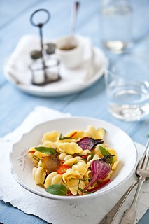 Conchiglie With Roasted Beets & Pineapple Sage | by tartelette