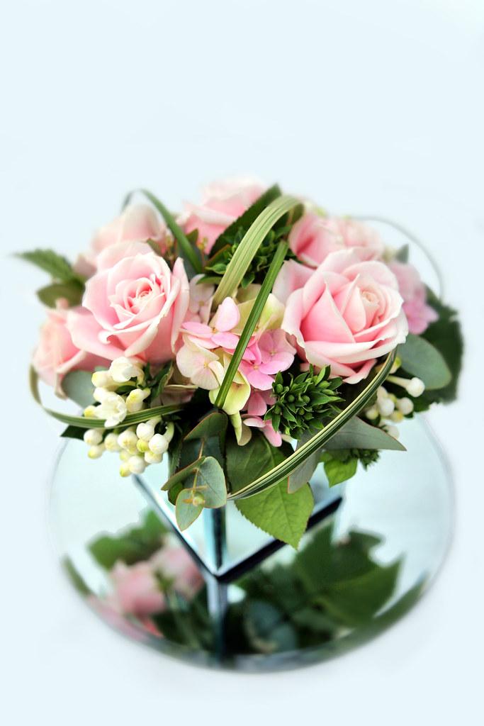 Mirror Cube Vase Emma Norton Flowers Flickr