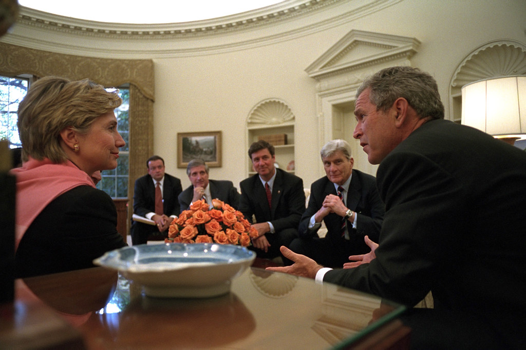 george bush oval office. 911: President George W. Bush Meets With Officials In Oval Office, 09/ Office