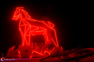 The Trojan Horse at Burning Man 2011 | by mr. nightshade