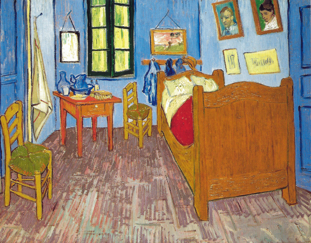 Vincent Van Gogh Van Gogh S Bedroom At Arles 1889 At Mu Flickr