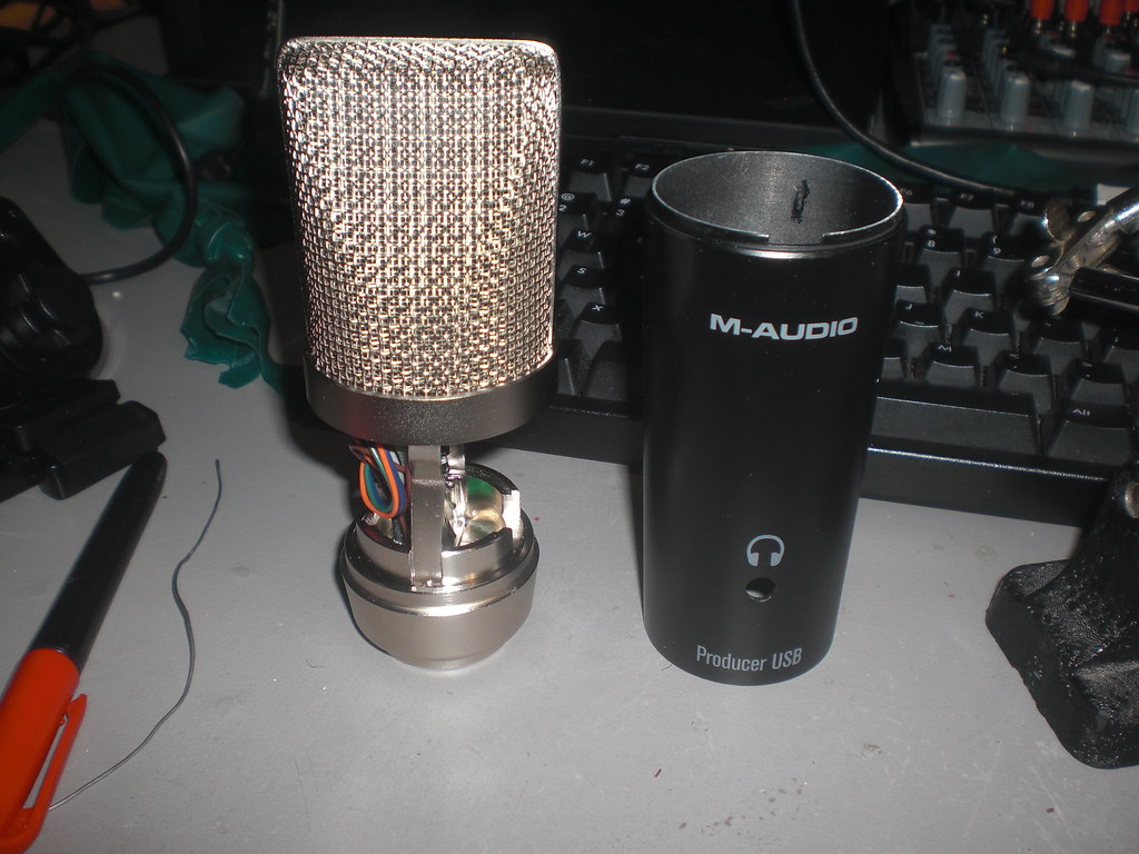 M-Audio Producer USB Mic Update