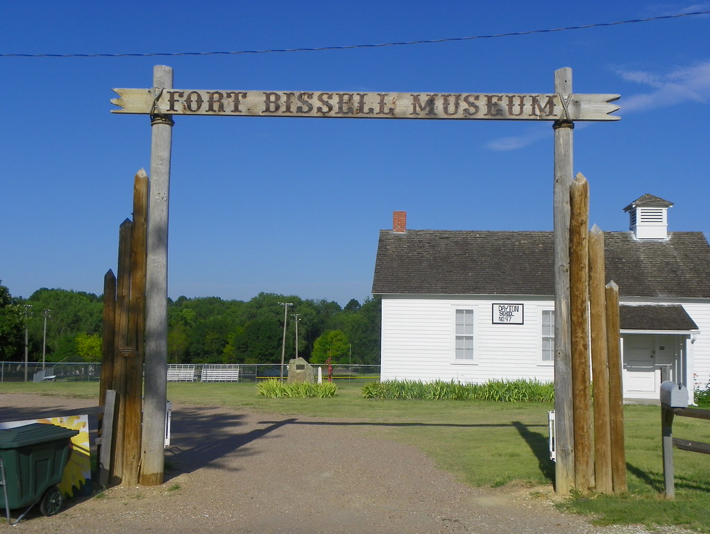 Kansas phillips county phillipsburg -  Fort Bissell Museum By J Stephen Conn