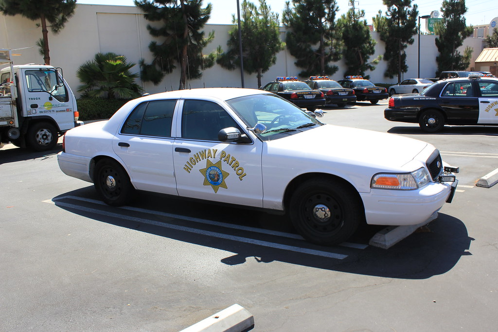 Ford Crown Slicktop Chp California Highway Patrol Chp