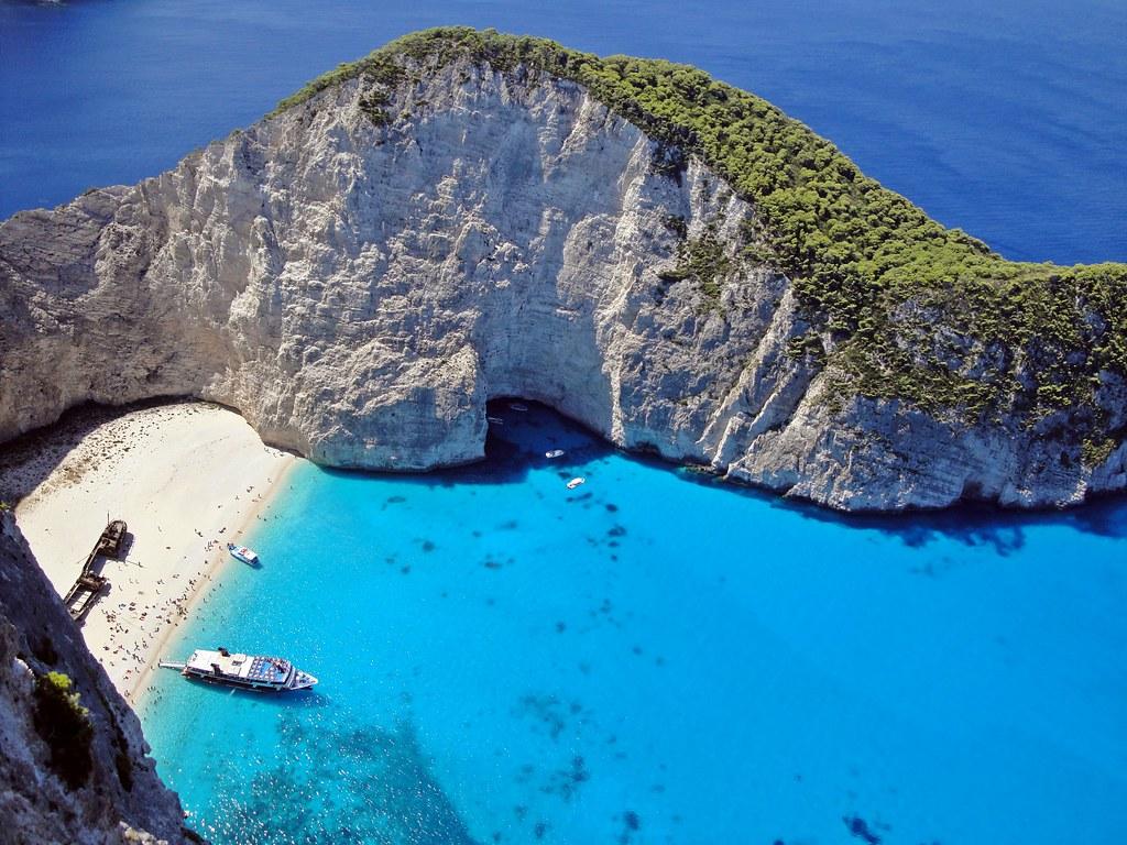 GREECE ZAKYNTHOS Shipwreck