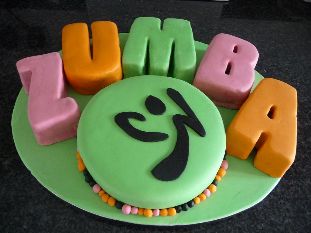 Happy Birthday Zumba Cake