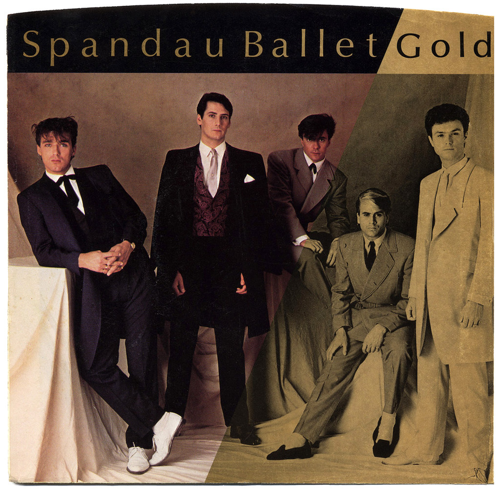 Image result for spandau ballet gold