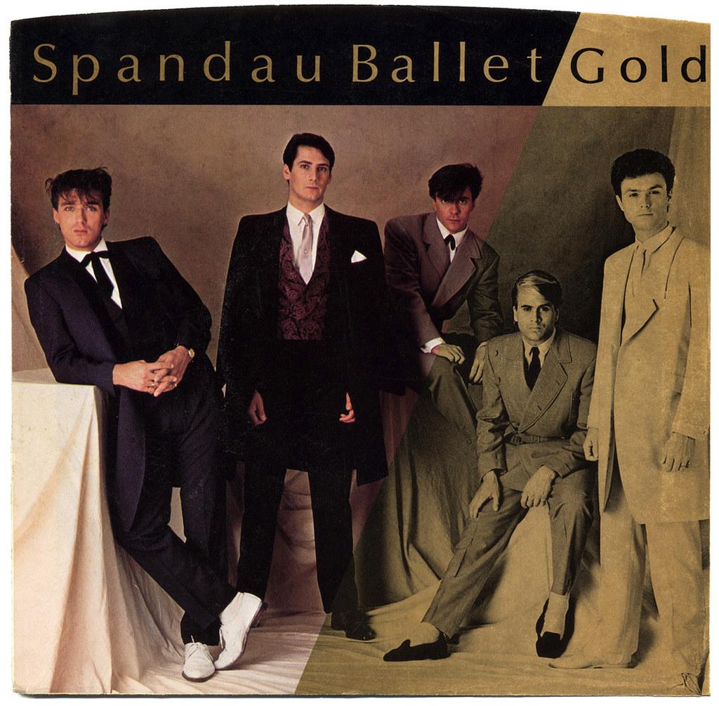 Image result for spandau ballet gold