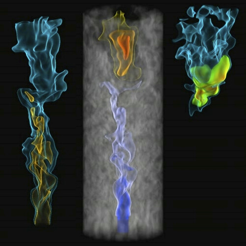 Direct Numerical Simulation of Autoignition in a Jet in a Cross-Flow Combustion | by Argonne National Laboratory