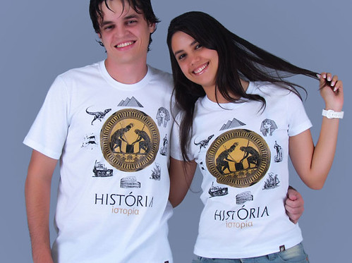 Camiseta universitária do curso de História | by i9camisetas.com