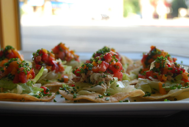 Crab Tostadas with California Strawberries and Mango Salsa 2