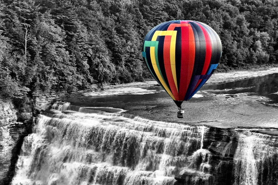 Letchworth Hot Air Balloon By Plost Modern