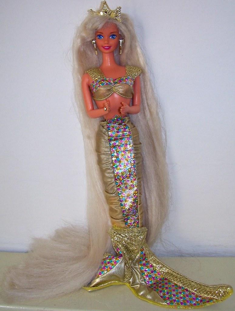 Jewell Hair: 1995 Jewel Hair Mermaid Barbie