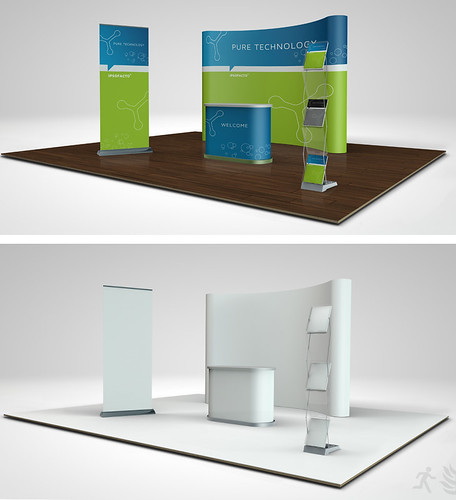 Graphicriver Exhibition Stand Design Mockup : Wylixe trade show display mockup free