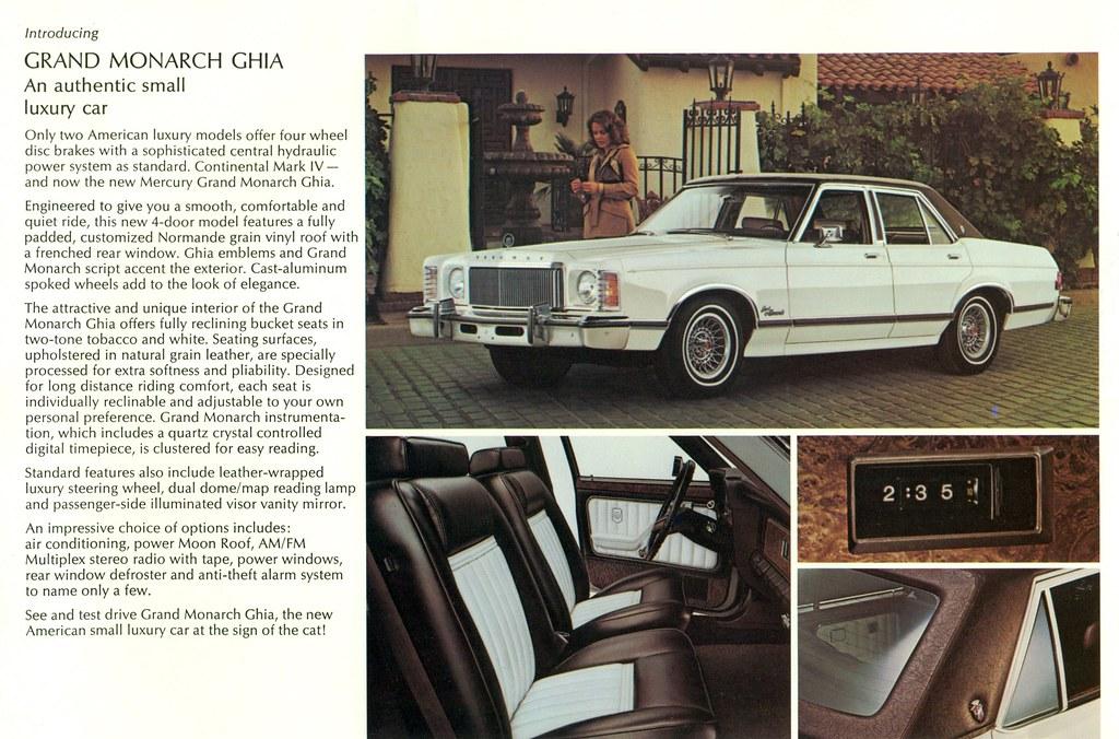 ... 1975 Mercury Grand Monarch Ghia 4 Door Sedan | by coconv & 1975 Mercury Grand Monarch Ghia 4 Door Sedan | coconv | Flickr