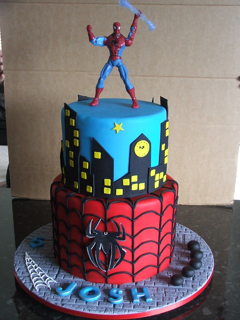 Birthday Cake Ideas Spiderman : Spiderman Flickr - Photo Sharing!
