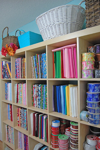 fabric storage | by ornamentgirl