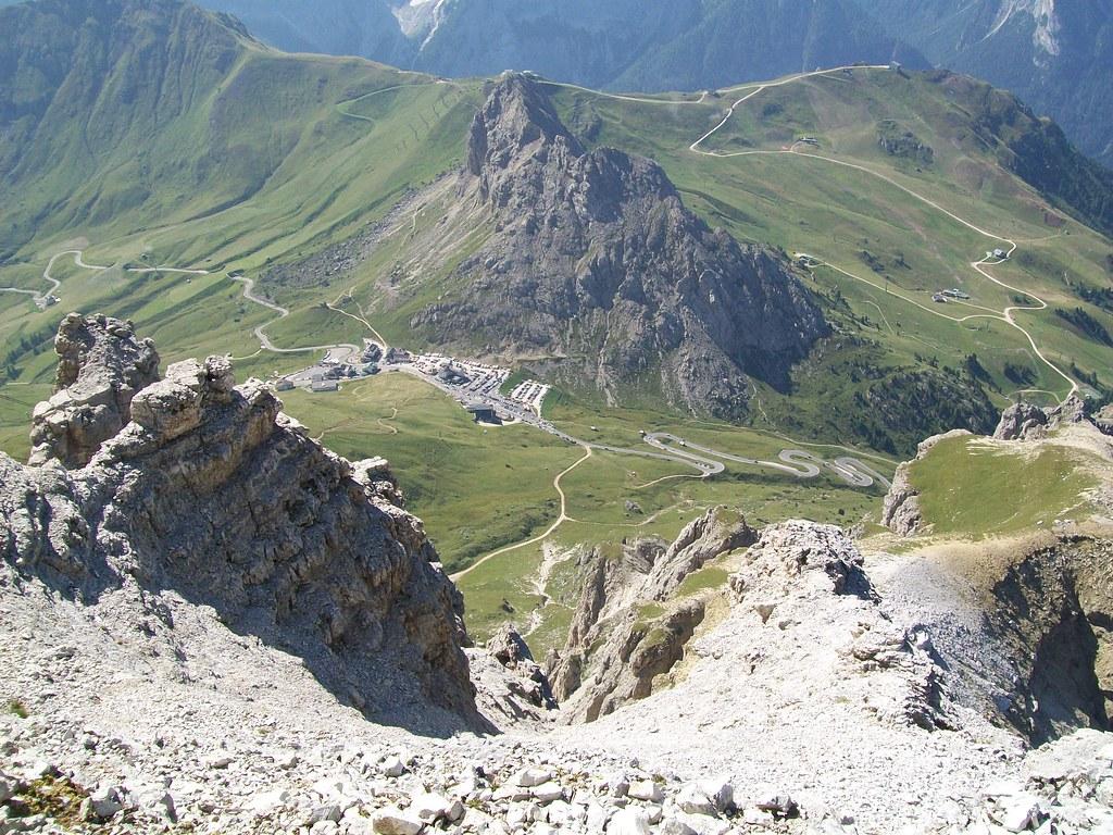 Canazei Passo Pordoi Sass Pordoi Terrazza Delle Dolomiti Flickr