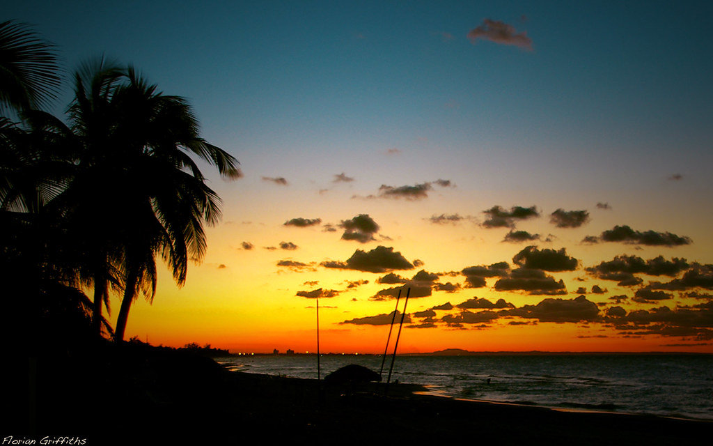 Sunset On Varadero Beach