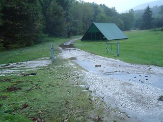 Storm damage at eisenhower national fish hatchery in vermo for Vermont fish and wildlife jobs