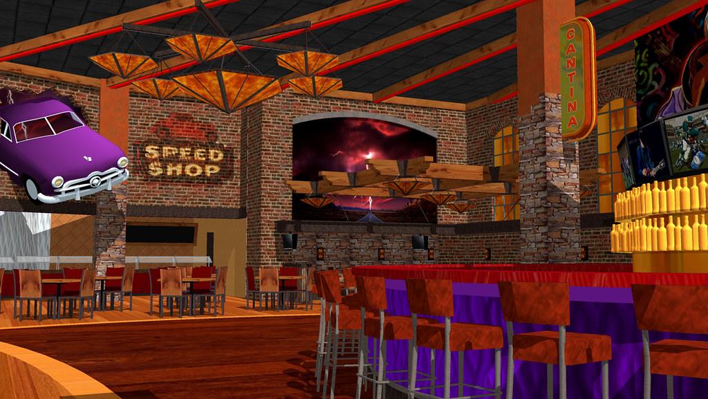 conceptual casino restaurant interior casino design f b decor design route 66
