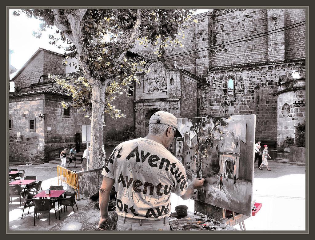 Solsona lleida catedral paisaje fotos pintura pintor ernes flickr - Pintores en lleida ...