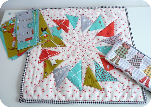 brit mini quilt swap | by sewjustinesew!