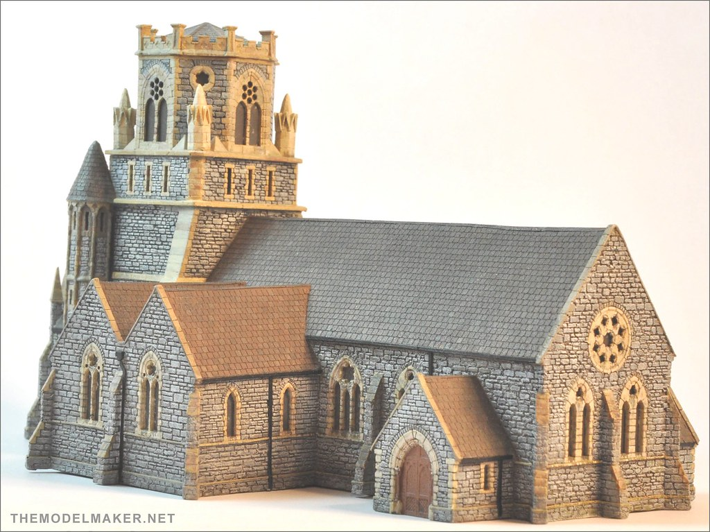 Bartholomew Church Wip 12 First Cast Of My Scratchbuild