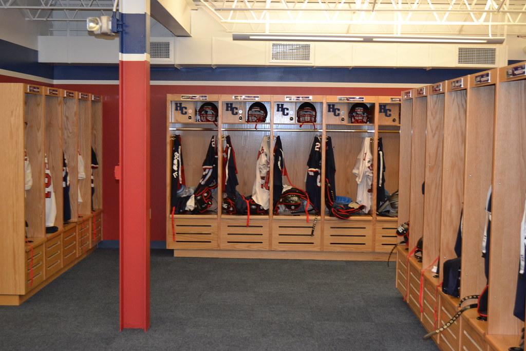 Men\'s locker room. Photo as of August 12, 2011.   Hiram College   Flickr